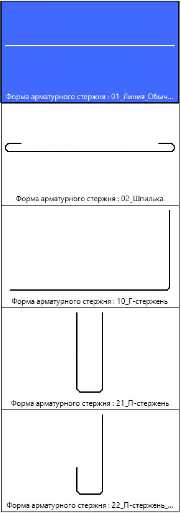 Форма стержня 1