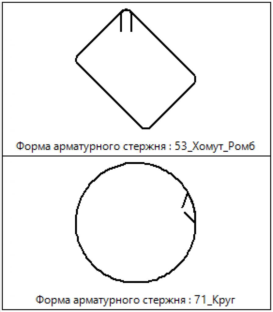 Форма стержня 3